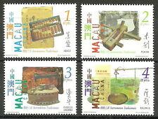 Macau - Traditionelle Gebrauchsgegenstände Satz postfrisch 2001 Mi. 1133-1136
