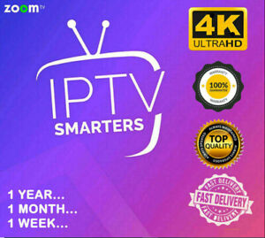 Smarter$ IP*TV Pro 12 Mois Abonnement UFC(🔥M3U🔥SMART TV🔥box tv🔥MAG🔥XTREAM
