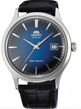 Orient Bambino Version 4 FAC08004D0 Automatic Blue Dial Black Leather Band Men's