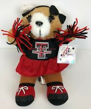 Texas Tech Red Raiders Cheerleader Bear NCAA Licensed NWT