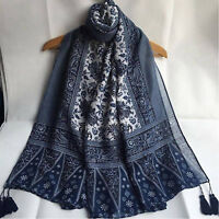 Women Fashion Blend Long Hijab Scarf Shawl Wrap Pashmina Scarf Neck Stole Scarve