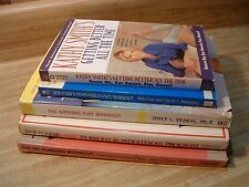 Lot of 5 WOMEN'S EXERCISE & FITNESS Books ~ WORKOUTS, JANE FONDA, POST-PREGNANCY