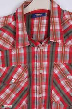 Camicie casual e maglie da uomo a manica lunga rossa Dickies