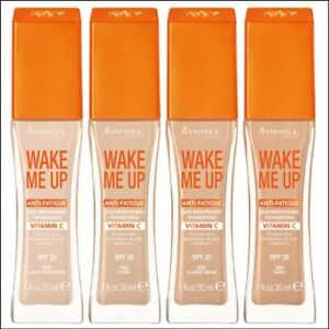 Rimmel Wake Me Up Anti-Fatigue Skin Brightening Foundation (Choose Your shade)