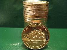 "20 ""USS Constitution - Old Ironsides"" 1oz .999 Copper 20 rounds 1 Roll in Tube"