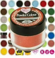 Rainbow Dust Edible Cake Decorating Powder Colours food Matt Dusting Decoration