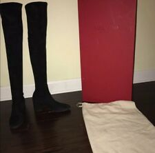 Black Over The Knee Valentino Boots suede size 40