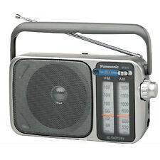 Panasonic Portable Am / FM Radio 10cm Speaker Dial Control LED Indicator Rf-2400
