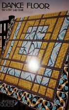 Quilt Pattern Dance Floor Lap Quilt by Jaybird Quilts-FREE US SHIPPING!
