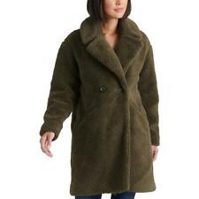 Lucky Brand женские Тедди зимний искусственный мех с двойным лицом пальто верхняя одежда bhfo 2081