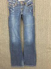 BKE Starlite Flare Women's Denim Jeans 24x33.5 EUC