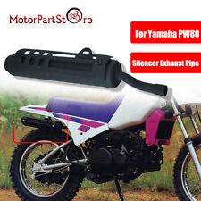 für Yamaha PW80 Schalldämpfer Auspuff 1990-2006 Exhaust Muffler