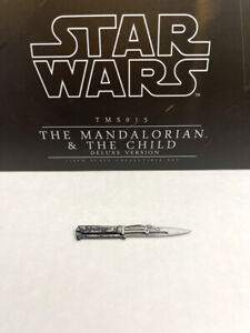 HOT TOYS TMS015 THE MANDALORIAN & CHILD DELUXE VIBRO KNIFE DAGGER 1:6 FIGURE