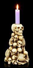 Chandelier - Tête de mort & squelette MONTAGNE - gothique crâne chandeliers déco