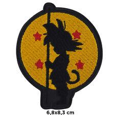 Toppa Dragon Ball dragonball goku cartoon iron patch ricamata termoadesiva