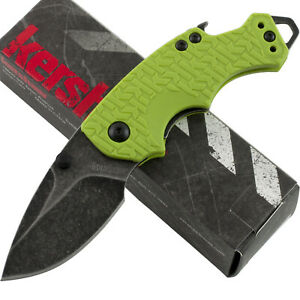 Kershaw Lime Green Handle Shuffle Linerlock Pocket Knife KS8700LIMEBW Backwash
