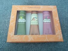 Crabtree & Evelyn Hand Therapy Trio Set Rosewater, Citron & Gardeners 50g NEW