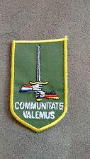 Dutch Army trf 1st NL DE Corps patch cloth badge