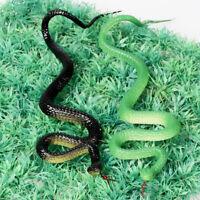 Plastic Snakes Rain Forest Snakes Realistic Rubber Snakes Fake Snake Halloween
