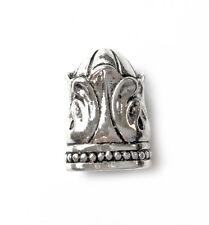 Antique Silver Plated Baroque Knife End Tassel Cap Bead Cap Beadcap Q4 66475