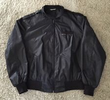 Members Only Black Iconic Racer Jacket, Size 1X