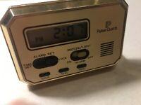 VINTAGE PULSAR DESK LCD ALARM CLOCK MADE IN JAPAN