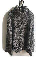 Chunky H&M black & white Knitted Jumper, Medium