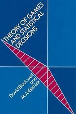Theory of Games and Statistical Decisions (Dover Books on Mathematics)-ExLibrary