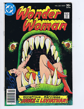 Wonder Woman #233 DC 1977 The Jaws of the Leviathan !