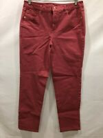 Isaac Mizrahi Women's Tall 24/7 Colored Denim 5-Pocket Ankle Jeans Size 12T