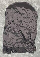 Golf Clubs Bag Rain Hood Cover 4 Buttons 1 Zipper Black Carry Stand Rainhood