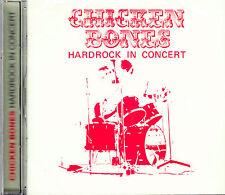 CHICKEN BONES  hardrock in concert + 6 b. Remastered Long Hair CD NEU OVP/Sealed
