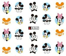 Stickers Ongles Water Décal Nail Art Disney A-362 - Neuf