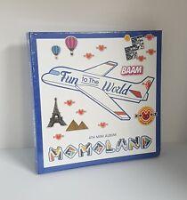 K-POP MOMOLAND 4th Mini Album [Fun to The World] CD+Photobook+Photocard+Sticker