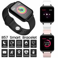 B57 Montre Connectée Smart Watch Bluetooth Intelligente IP67 Fitness Tracker