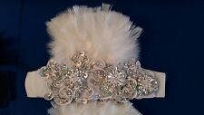 SAMBA real feather Ankle Cuffs for Costumes and Dance wear Outfits Many colors !
