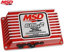 MSD 6421 6AL-2 Ignition Box Digital w/ Built-In 2 Step SBC BBC SBF Chevy Ford