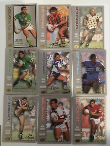 1994 SERIES 3 MASTERS RUGBY LEAGUE CARD SET DYNAMIC MARKETING 110 CARDS
