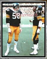 Jack Lambert Pittsburgh Steelers Spotlight Action Photo Size: 8 x 10