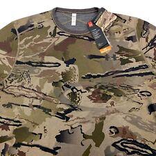 Under Armour Men`s ColdGear Mid Season Reversible Wool Base Crew Camo Shirt $100