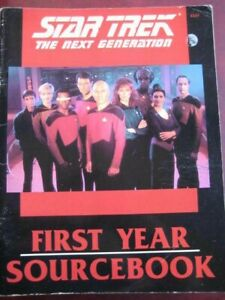 STAR TREK THE NEXT GENERATION BOOK-ROLEPLAYING- SUPPLEMENT BY FASA CORP-VGC.VIEW