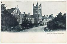 HANDSWORTH - Wesleyan Methodist College - Birmingham - 1905 used postcard