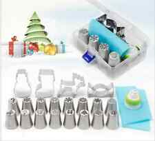 20PCS Christmas Style Nozzle Pastry Kit Cookie Cutter Cake Baking Decorate Tool