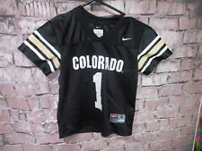 Nike Team Youth Children's Boy's Colorado Football Jersey #1 Size 4