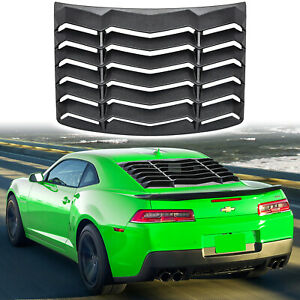 Rear Window Louver Windshield Sun Shade Cover for Chevrolet Camaro 2010-2015 ABS