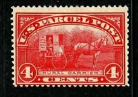 [DH]   US #Q4 Mint-OG-HR 1913...4c PARCEL POST...Free Shipping!