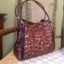 Coach Madison Ocelot Leopard Phoebe Shoulder Bag Purse