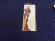 1990 Marilyn Monroe Show Girl  Cardboard Cutout Standup Standee RED DRESS