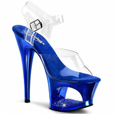Pleaser Synthetic Leather Slim Heels for Women