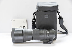 SIGMA 150-600mm f/5-6.3 DG OS HSM Contemporary for Nikon WITH SIGMA 95mm filter
